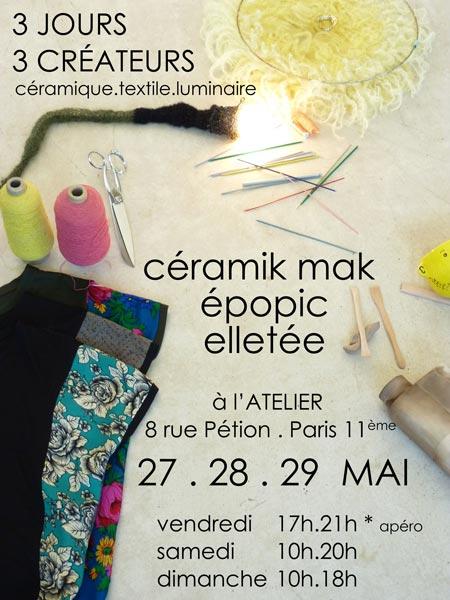 Expo à l'Atelier (Paris)